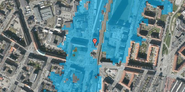 Oversvømmelsesrisiko fra vandløb på Lygten 2B, 2400 København NV
