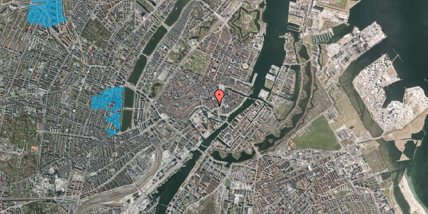 Oversvømmelsesrisiko fra vandløb på Nikolajgade 25, 1068 København K