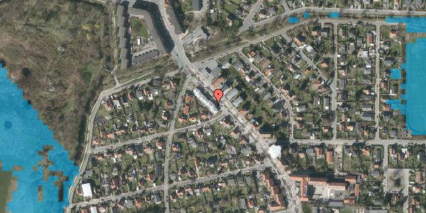 Oversvømmelsesrisiko fra vandløb på Frederiksborgvej 209C, 2400 København NV