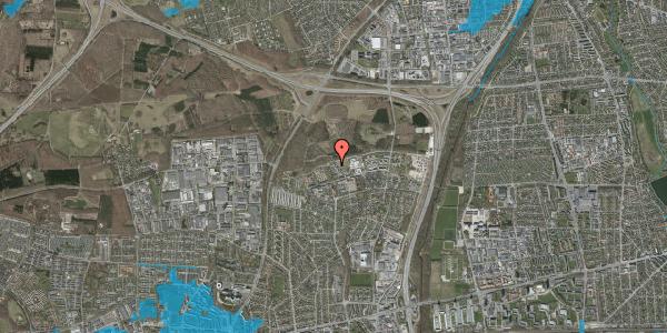 Oversvømmelsesrisiko fra vandløb på Egeskoven 28, st. , 2600 Glostrup