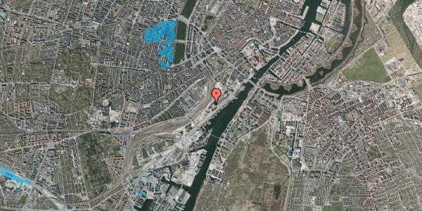 Oversvømmelsesrisiko fra vandløb på Carsten Niebuhrs Gade 13, 1577 København V