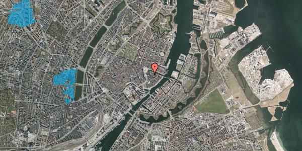 Oversvømmelsesrisiko fra vandløb på Heibergsgade 10, 1056 København K