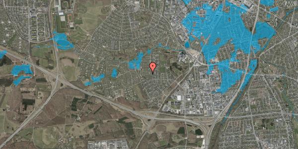Oversvømmelsesrisiko fra vandløb på Vængedalen 203, 2600 Glostrup