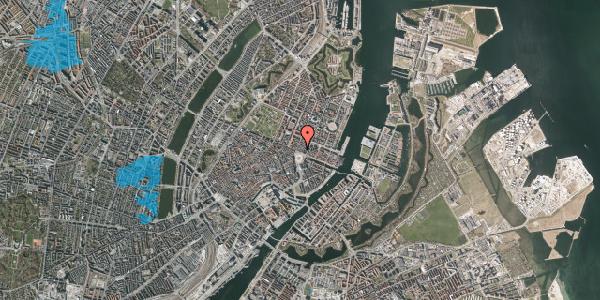 Oversvømmelsesrisiko fra vandløb på Kongens Nytorv 8E, 1050 København K
