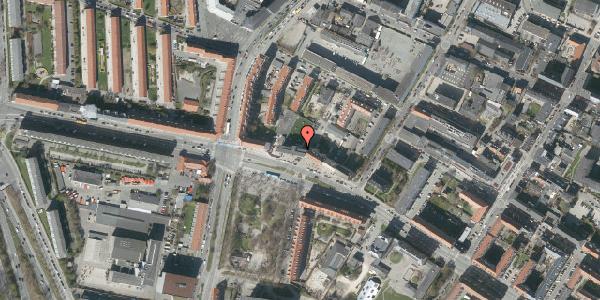 Oversvømmelsesrisiko fra vandløb på Frederikssundsvej 84A, 5. th, 2400 København NV