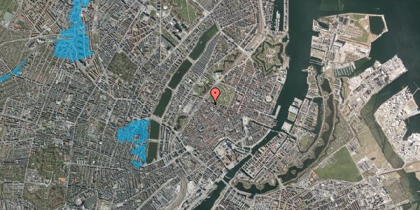 Oversvømmelsesrisiko fra vandløb på Åbenrå 36, 1124 København K