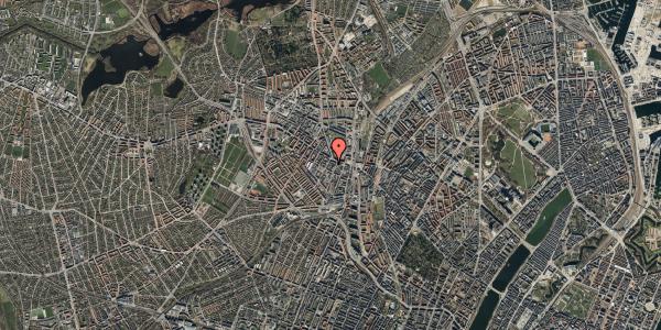 Oversvømmelsesrisiko fra vandløb på Vibevej 7A, 2. th, 2400 København NV