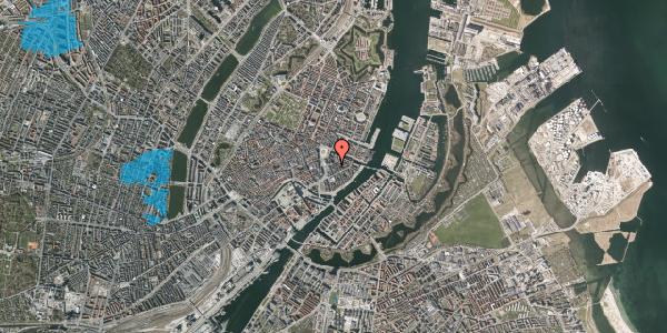 Oversvømmelsesrisiko fra vandløb på Tordenskjoldsgade 7, 3. tv, 1055 København K