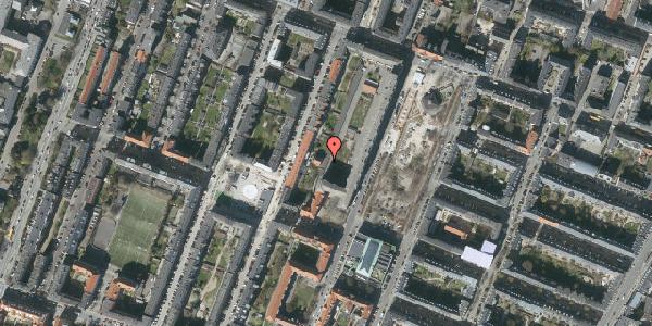 Oversvømmelsesrisiko fra vandløb på Aksel Møllers Have 20A, st. 2, 2000 Frederiksberg