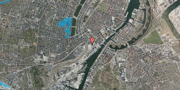 Oversvømmelsesrisiko fra vandløb på Bernstorffsgade 34, 1577 København V