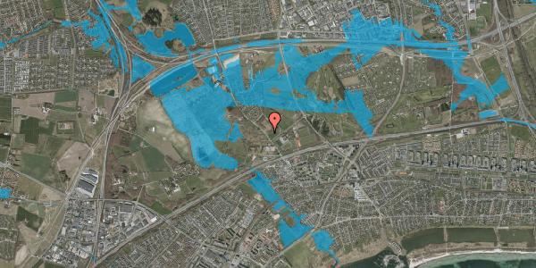 Oversvømmelsesrisiko fra vandløb på Vejlegårdsvej 84, 2625 Vallensbæk