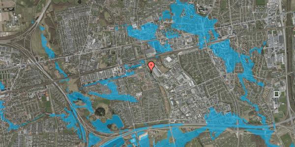 Oversvømmelsesrisiko fra vandløb på Stenkløvervænget 5, 2625 Vallensbæk
