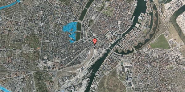 Oversvømmelsesrisiko fra vandløb på Bernstorffsgade 22, 2. , 1577 København V