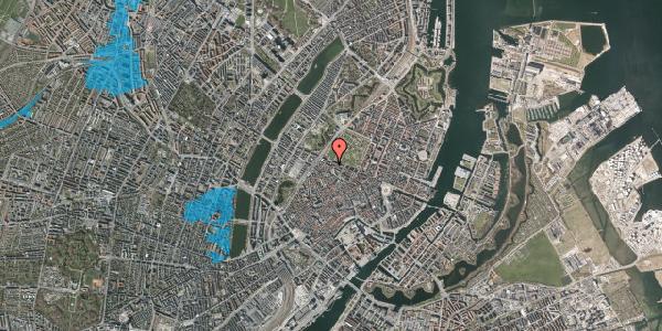 Oversvømmelsesrisiko fra vandløb på Åbenrå 34, 1124 København K