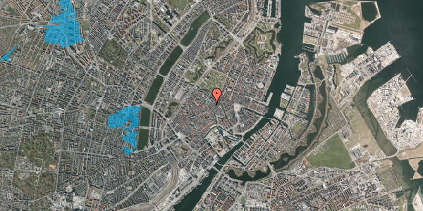 Oversvømmelsesrisiko fra vandløb på Klareboderne 3B, st. , 1115 København K