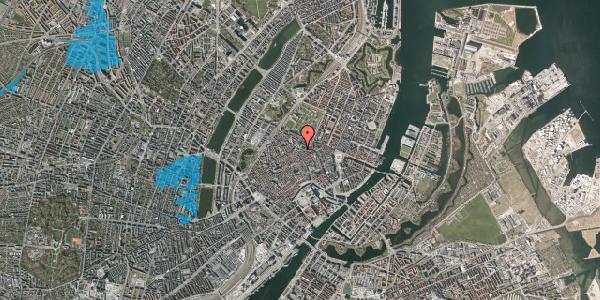 Oversvømmelsesrisiko fra vandløb på Pilestræde 61, 1. , 1112 København K