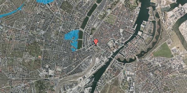 Oversvømmelsesrisiko fra vandløb på Vesterbrogade 1M, 1620 København V