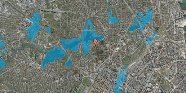 Oversvømmelsesrisiko fra vandløb på Rådvadsvej 60, 2400 København NV
