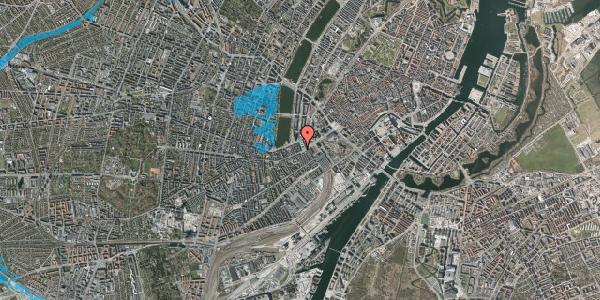 Oversvømmelsesrisiko fra vandløb på Trommesalen 3, 4. tv, 1614 København V
