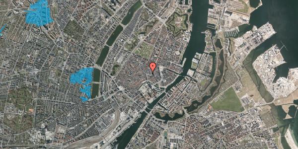 Oversvømmelsesrisiko fra vandløb på Østergade 52, st. , 1100 København K