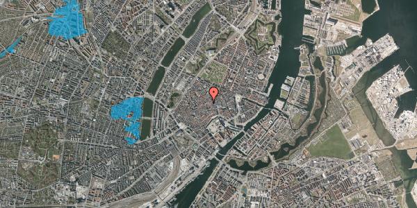 Oversvømmelsesrisiko fra vandløb på Niels Hemmingsens Gade 24, 2. , 1153 København K