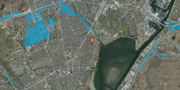 Oversvømmelsesrisiko fra vandløb på I C Lembrechts Alle 29A, 2650 Hvidovre
