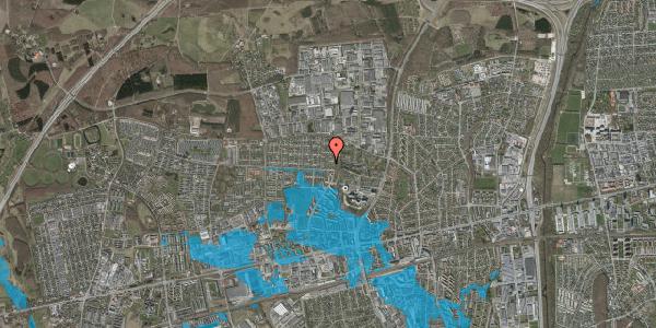 Oversvømmelsesrisiko fra vandløb på Haveforeningen Hersted 53, 2600 Glostrup