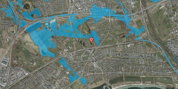 Oversvømmelsesrisiko fra vandløb på Golfsvinget 16, 2625 Vallensbæk