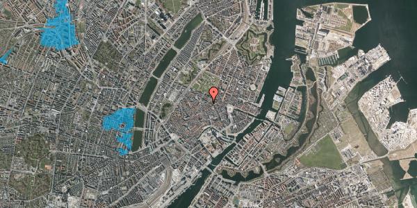 Oversvømmelsesrisiko fra vandløb på Møntergade 10A, 3. , 1116 København K