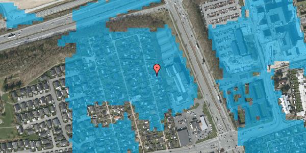 Oversvømmelsesrisiko fra vandløb på Hf. Kettehøj 116, 2650 Hvidovre