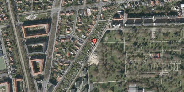 Oversvømmelsesrisiko fra vandløb på Hf. Dalgas 25, 2000 Frederiksberg