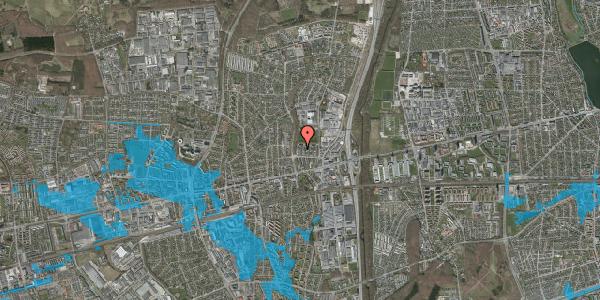 Oversvømmelsesrisiko fra vandløb på Dalvangsvej 56B, 2600 Glostrup