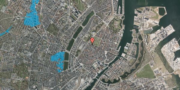 Oversvømmelsesrisiko fra vandløb på Gothersgade 111, 1123 København K