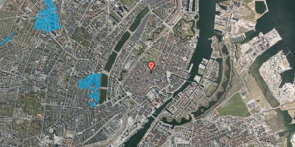 Oversvømmelsesrisiko fra vandløb på Købmagergade 46, 1. , 1150 København K