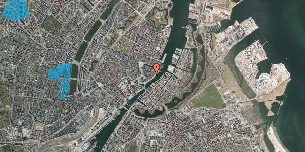 Oversvømmelsesrisiko fra vandløb på Havnegade 41B, kl. 5, 1058 København K