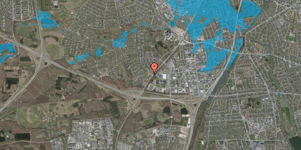 Oversvømmelsesrisiko fra vandløb på Ejbysvinget 76, 2600 Glostrup