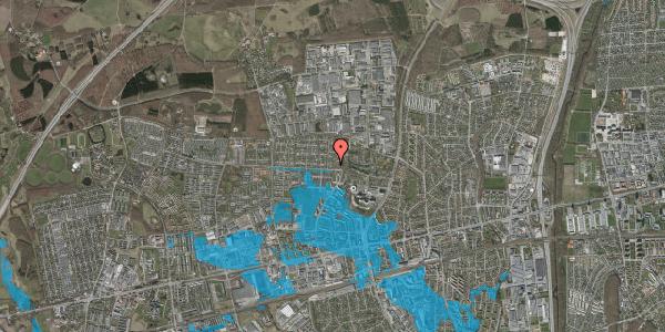 Oversvømmelsesrisiko fra vandløb på Haveforeningen Hersted 26, 2600 Glostrup