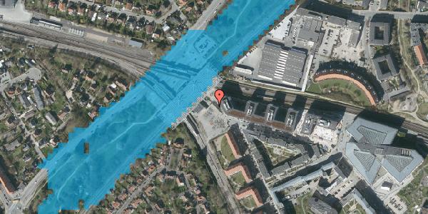 Oversvømmelsesrisiko fra vandløb på Stig Lommers Plads 5, 2000 Frederiksberg