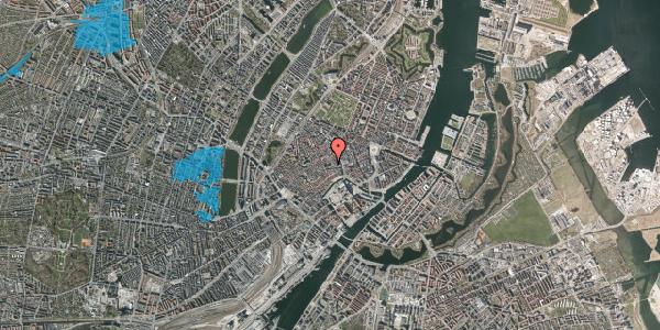 Oversvømmelsesrisiko fra vandløb på Niels Hemmingsens Gade 5, 1153 København K