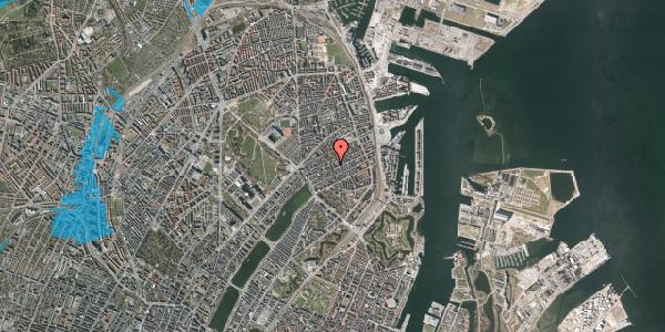 Oversvømmelsesrisiko fra vandløb på Saabyesvej 6, 2100 København Ø