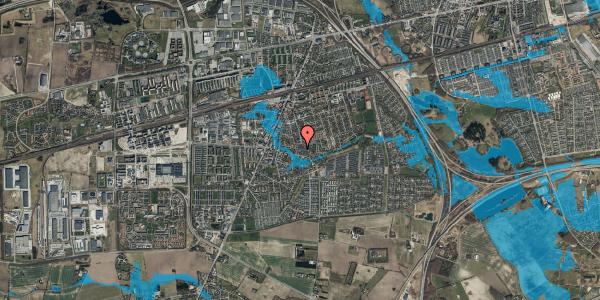 Oversvømmelsesrisiko fra vandløb på Valbyvej 47D, st. 4, 2630 Taastrup