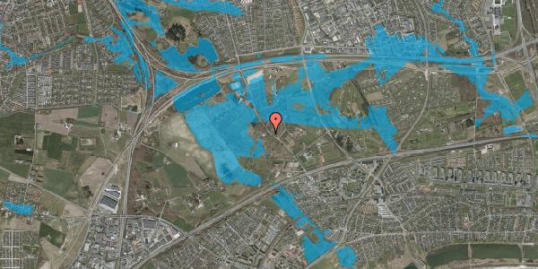 Oversvømmelsesrisiko fra vandløb på Vejlegårdsvej 97, 2625 Vallensbæk