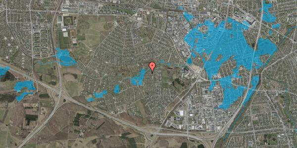 Oversvømmelsesrisiko fra vandløb på Vængedalen 818, 2600 Glostrup