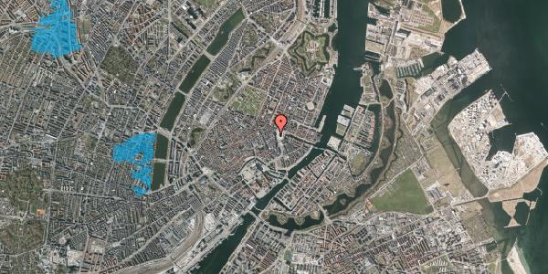 Oversvømmelsesrisiko fra vandløb på Østergade 4A, 1. , 1100 København K