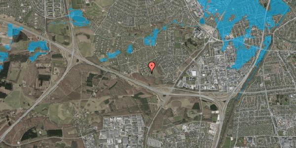 Oversvømmelsesrisiko fra vandløb på Karsevænget 34H, 2600 Glostrup