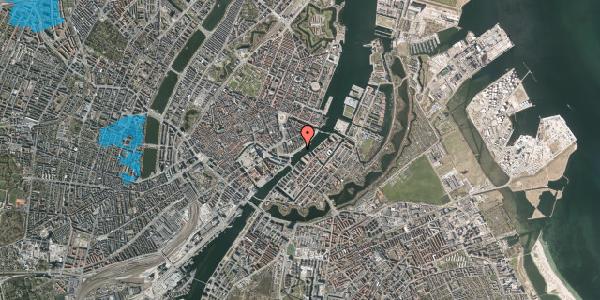 Oversvømmelsesrisiko fra vandløb på Havnegade 30, 1058 København K