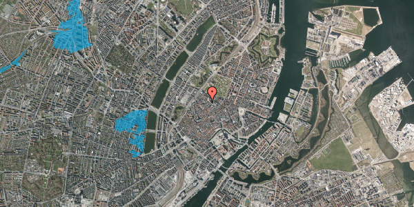 Oversvømmelsesrisiko fra vandløb på Pustervig 8B, 2. , 1126 København K