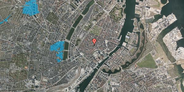 Oversvømmelsesrisiko fra vandløb på Valkendorfsgade 34, st. 1, 1151 København K