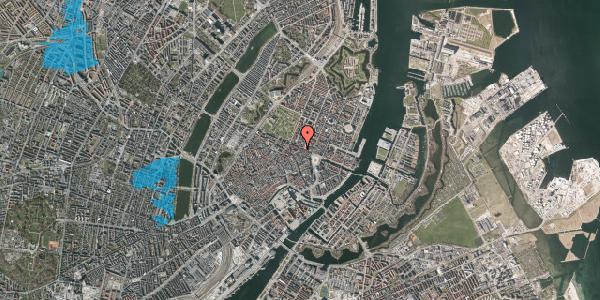 Oversvømmelsesrisiko fra vandløb på Store Regnegade 26B, 1110 København K