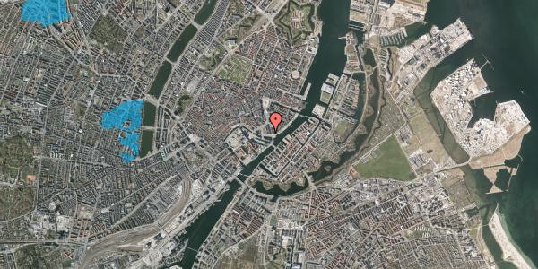 Oversvømmelsesrisiko fra vandløb på Havnegade 5, 3. , 1058 København K